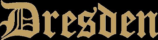 Dresden Schriftzug
