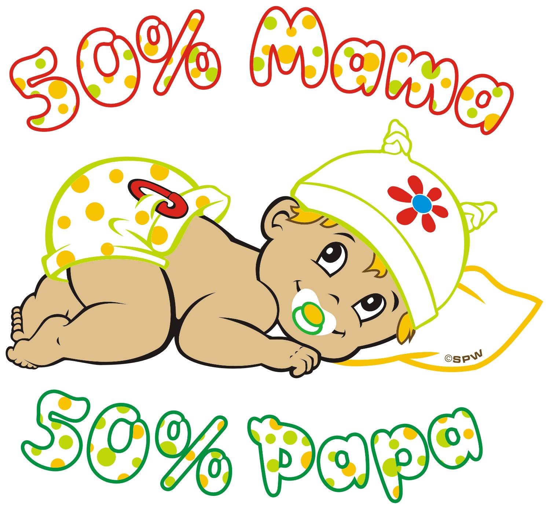 50% Mama 50% Papa A